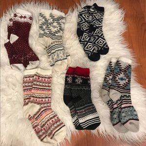 Bundle of American Eagle Christmas Socks